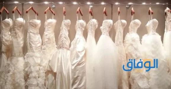 الفستان الابيض في المنام