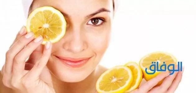 عصير الليمون لعلاج البشرة