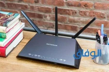 إعادة تعيين كلمة مرور لاتصال الشبكة