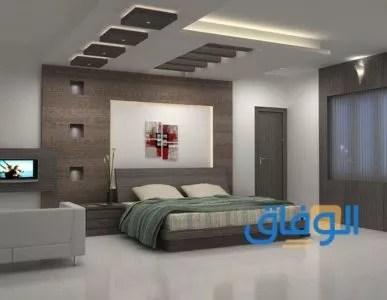 ديكورات جبس اسقف راقية 2021 لغرف النوم2