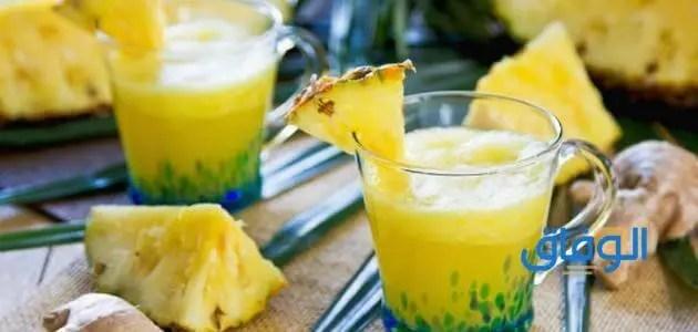 عصير كي دي دي اناناس