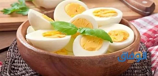 كيفية سلق البيض