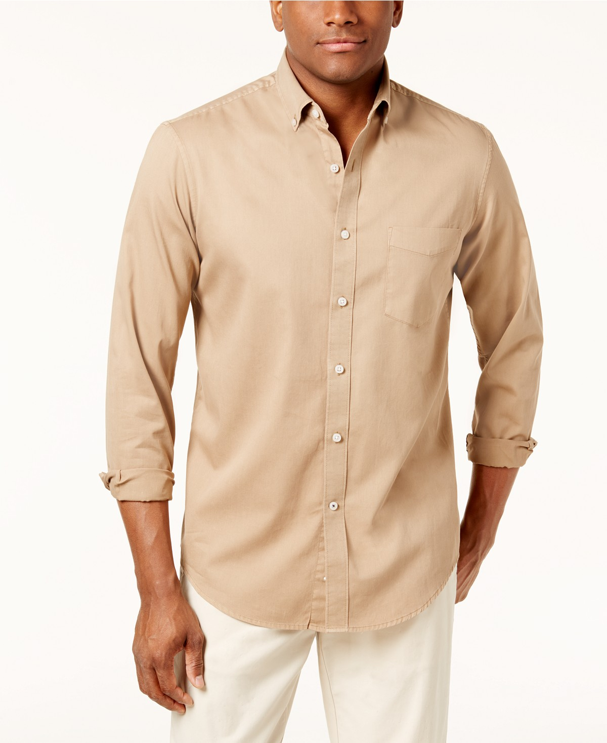 94662469d44 Macy's: Club Room Mens Adams Solid Shirt for $7.96 + store pickup. Hurry!