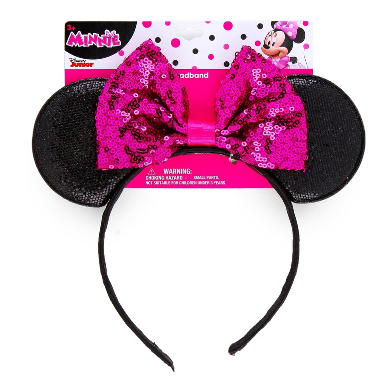 aba90aa6e75 Disney Minnie Mouse Sequin Ears Headband only  4 (Reg  10 ...