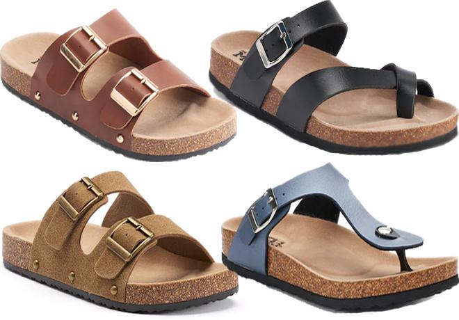 3a4603b3257d Kohl s  Mudd Women s Sandals