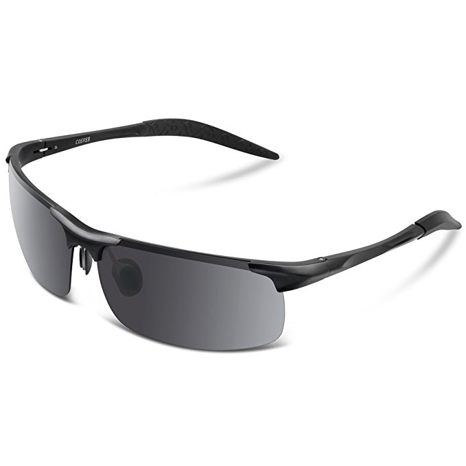 0db63dd8db1 Amazon  Men s polarized sports sunglasses  10.99 + Free Prime shipping.