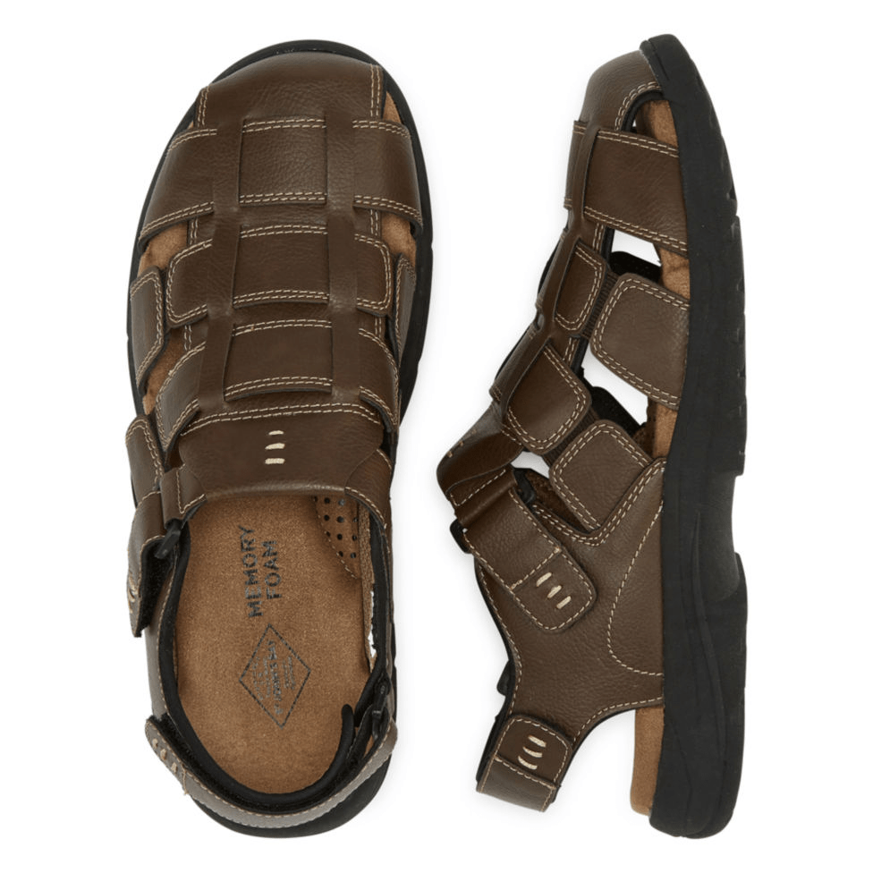 b87932122b15 JCPenney  St. John s Bay Coast Mens Strap Sandals for  15 + store pickup.