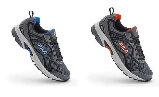 488200730f73 Kohls  FILA SPORT Windshift 15 Mens Running Shoes for  23.99 + Free in  store pickup.