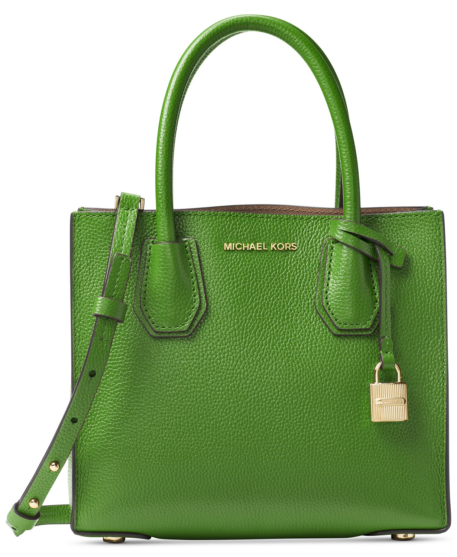 c52ec00088c5 Macy s  Michael Kors Mercer Medium Bonded-Leather Crossbody  97 (Org  248)    Many More Handbags on clearance!