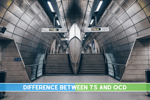 Difference between TS and OCD