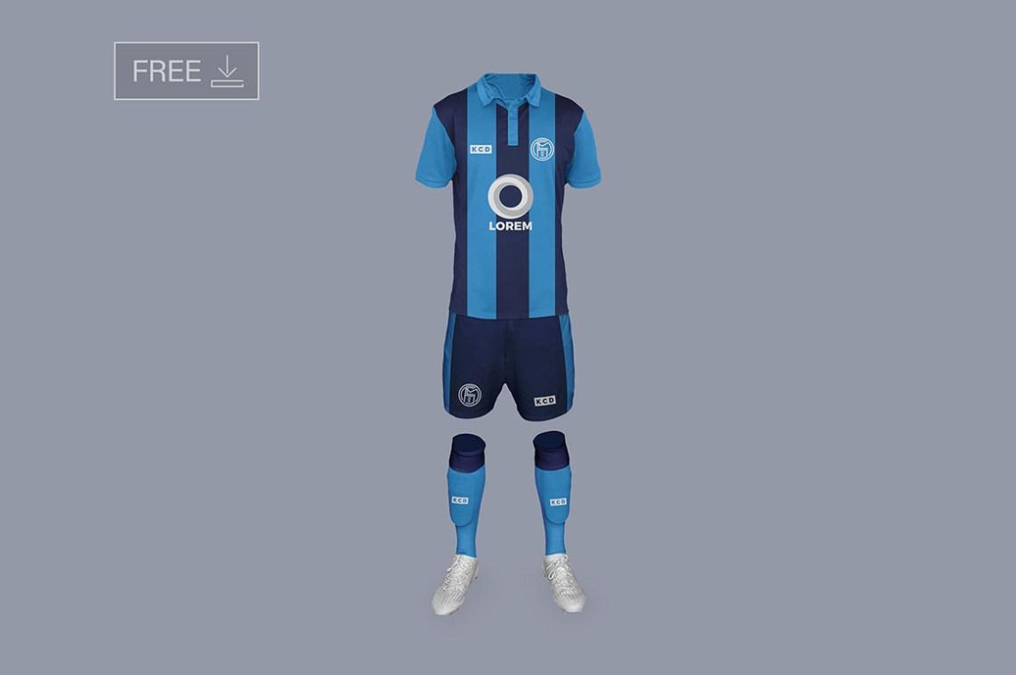 Download Soccer or Football Kit - Free Mockup - Dealjumbo.com ...
