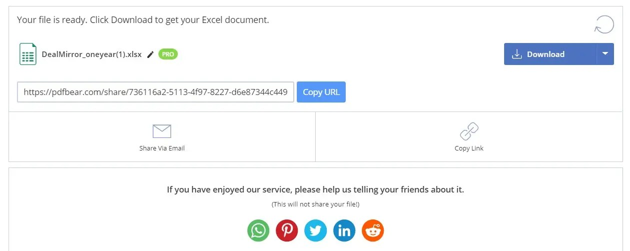 PDFBEAR Pro Lifetime Deal : Professional Online Saas Based PDF Tool