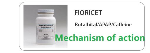 fioricet Mechanism of action