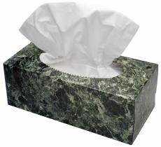Photograph of a box of facial tissues