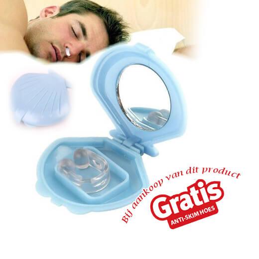 Anti-snurk ring voor een goede nachtrust