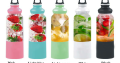 Sporty Portable Juicer with Power Bank Function