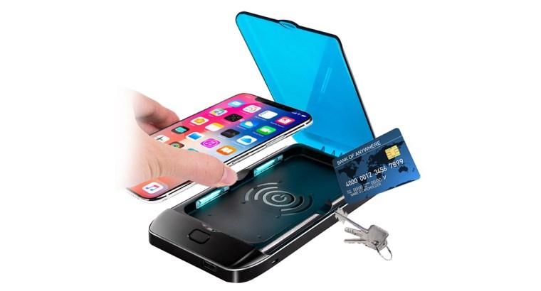 Portable Wireless Charger UV CellPhone Sterilizer