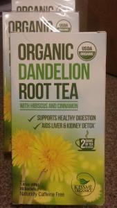 Kiss Me Organic Dandelion Tea