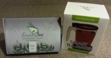 Enjoying Tea Variety Sample and Smart Tea Maker