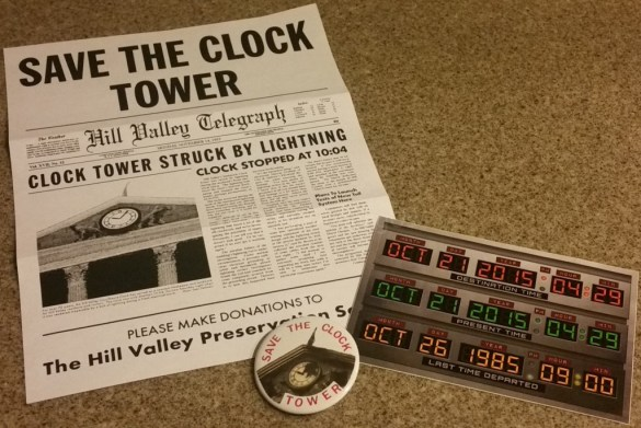 Back to the Future Geek Fuel October 2015