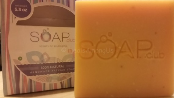 Soap CLub Front on