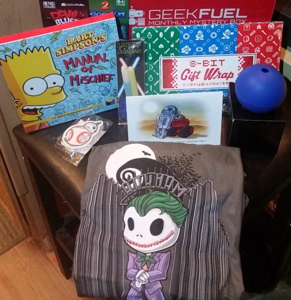 December box contents Geek Fuel