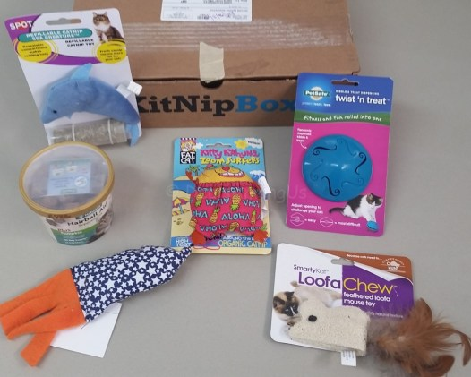 Monthly Box Contents - Kit Nip Box