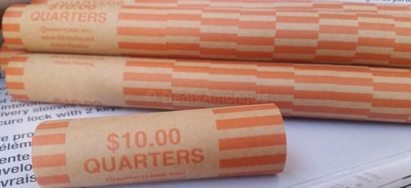 Quarter Rolls Nested