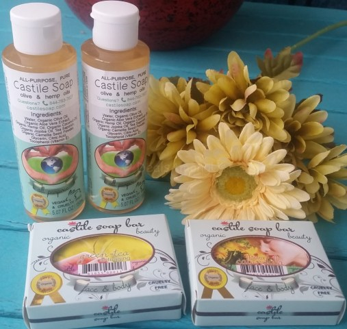 Castile Soap Monthly Box with Liquid Soap in box