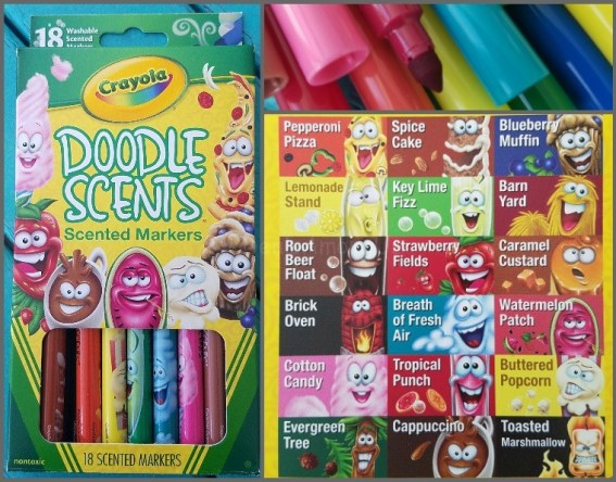 Doodle Scent Scented Markers