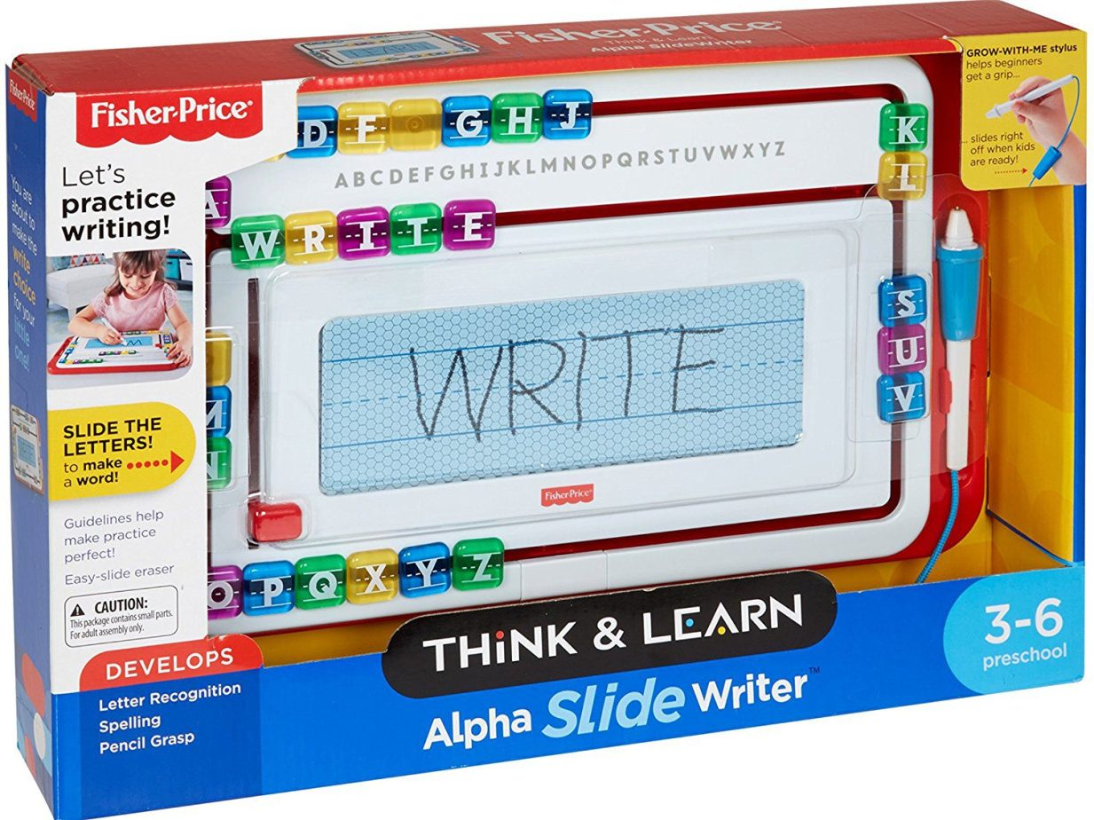 Deals Finders | Fisher-Price Think & Learn Alpha Slide Writer for ...