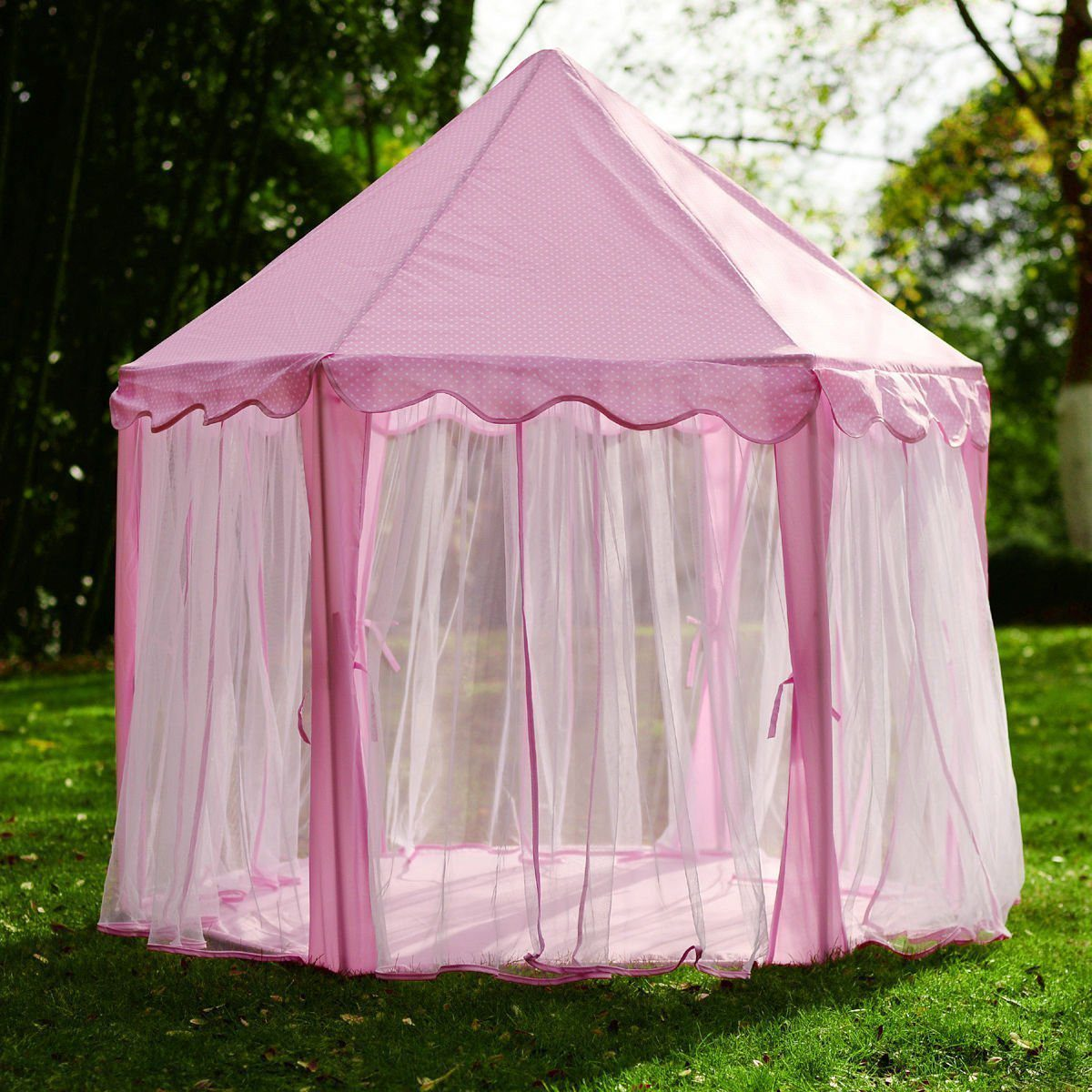 Princess Castle Kids Play Tent With Star LED Lights 6 & Deals Finders | Amazon : Princess Castle Kids Play Tent With Star ...