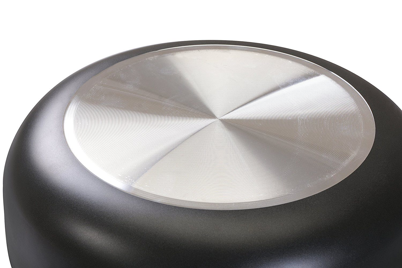 11 Inch Nonstick Deep Frying Pan - 4.6 Quart Sauté Pan 5