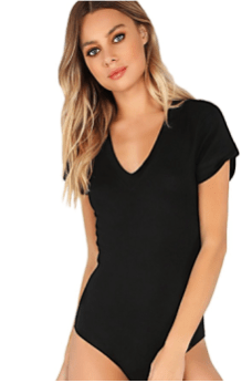 7749577b6 Deals Finders | Amazon : Women's Short Sleeve Tops Basic V-Neck ...