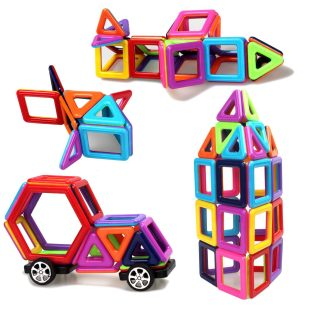 95 Pieces Magnetic Stacking Blocks 3