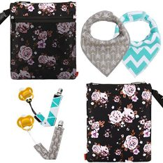 Baby Wet and Dry Cloth Diaper Bags Travel Nappy Organizer Bag 4