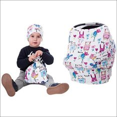 Breastfeeding Cover + Carrying Bag + Beanie Cap 1