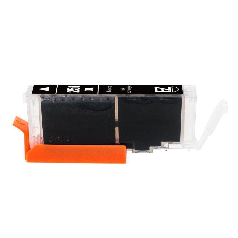 Compatible Ink Cartridge Replacement for Canon PGI-250XL PGI 250 XL CLI-251XL CLI 251 XL (3 Large Black, 3 Cyan, 3 Magenta, 3 Yellow, 3 Small Black) for Canon PIXMA MX922 MG5520 MG7520 6