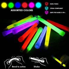 Glow Sticks Bulk 25 Count ( Whistle Shape ) 6