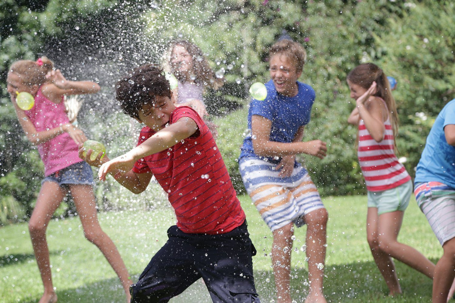Instant Water Balloons – Blue (3 bunches – 100 Total Water Balloons) 5