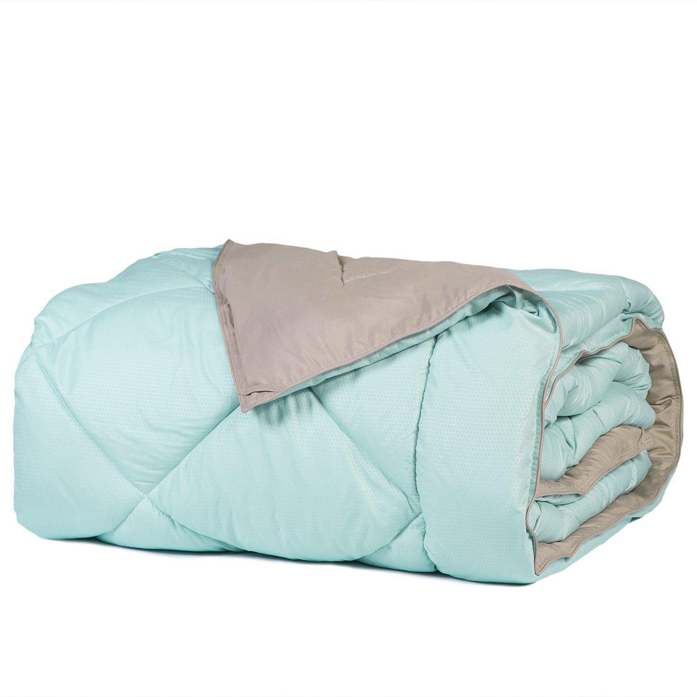 Twin Reversible Comforter Duvet Insert with Corner Ties 2