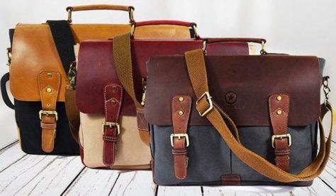 Vintage-Handmade-Leather-Messenger-Bags