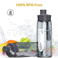 Water Bottle 28oz with Handle, BPA Free and Leak-Proof 5