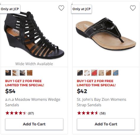 d006cfcc8929c 2018-07-11 15 14 21-Window. 2018-07-11 15 14 21-Window. JCPenney is having  a Buy 1 Get 2 FREE Sale on Women s Shoes!