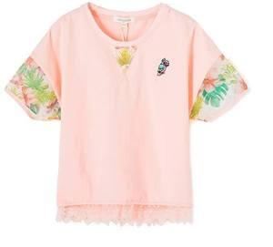 Girl Lightweight Short Sleeve T Shirt 1