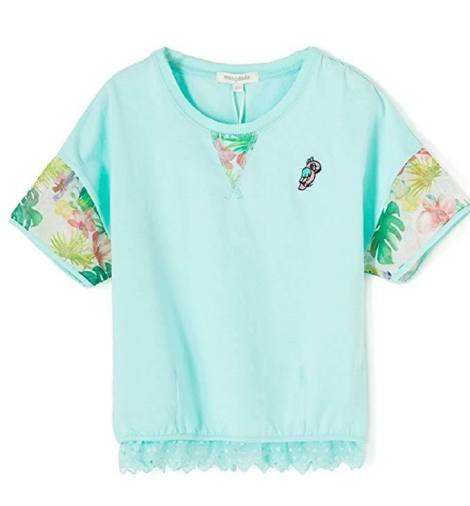 Girl Lightweight Short Sleeve T Shirt