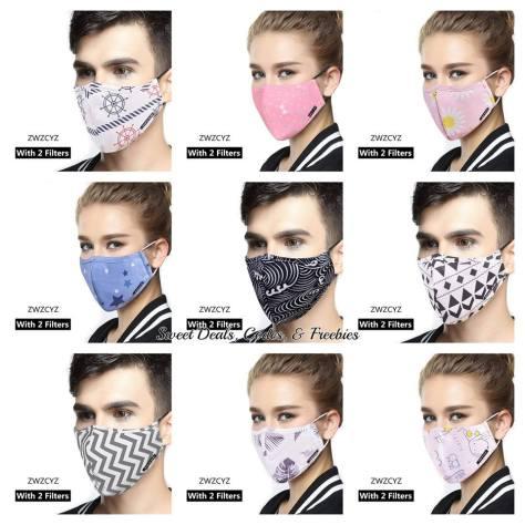 Washable Mouth Masks
