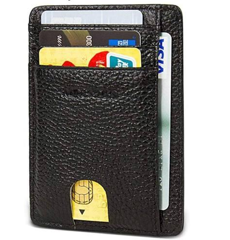 77ec4688d85a Deals Finders   Amazon: Slim Thin Minimalist Front Pocket RFID ...