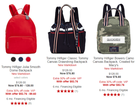 2018-09-19 10_34_44-Backpack Tommy Hilfiger Purses & Handbags - Macy's