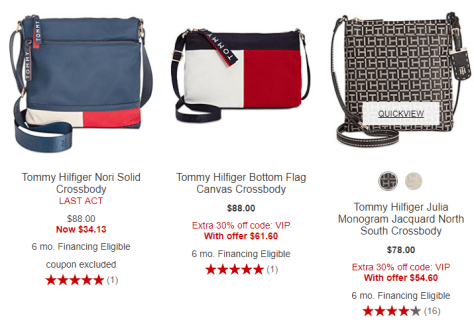 de8b449dc5f Crossbody 2018-09-19 10_35_29-Crossbody Tommy Hilfiger Purses & Handbags -  Macy's